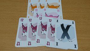 攻撃を受ける度に手札が強くなる!?ちょっと変わった攻撃が面白いカードゲーム「アブルクセン」