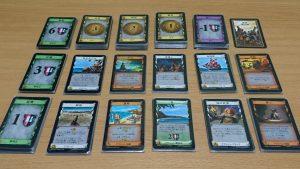 カード以外の要素、マットとトークン登場!拡張第2弾「ドミニオン海辺」
